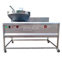 Máy rang cơm tự động kèm bếp xào